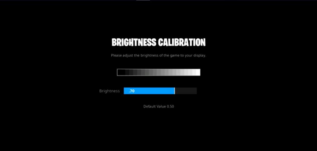 Faze sway brightness controls