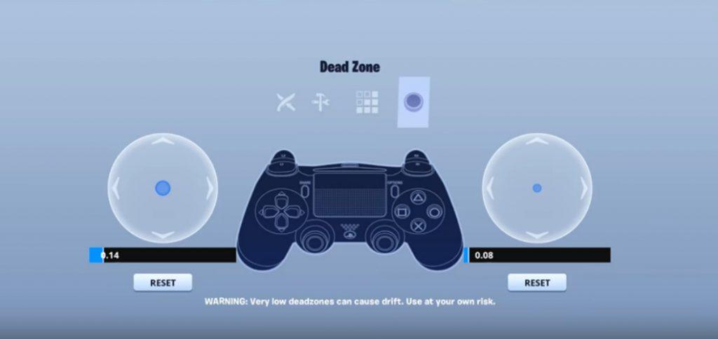aydan deadzone controller setting
