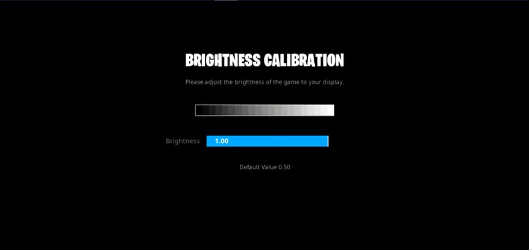 tfue brightnes settings fortnite