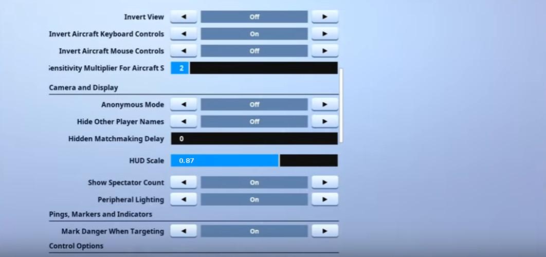 jarvis game settings