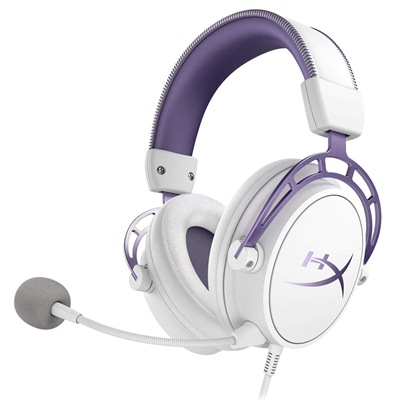 HyperX Cloud Alpha White/Purple