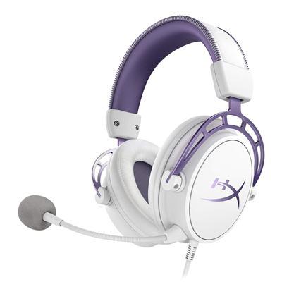 HyperX Cloud Alpha White/Purple