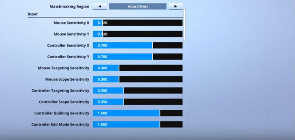72hrs Fortnite Mouse Settings