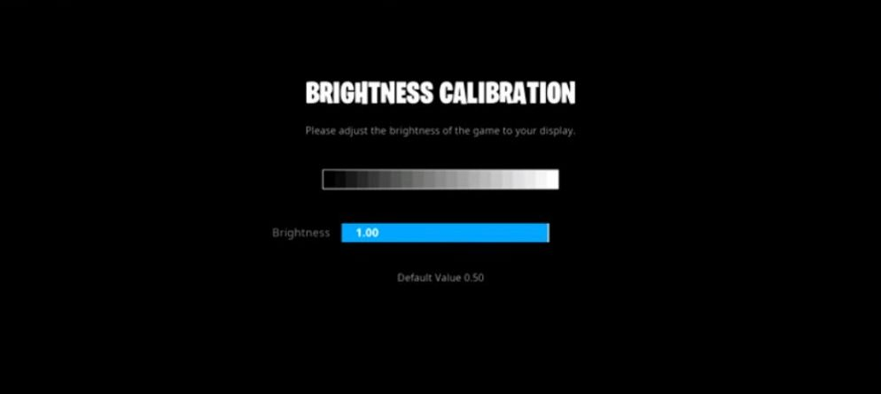 Chap Brightness Settings