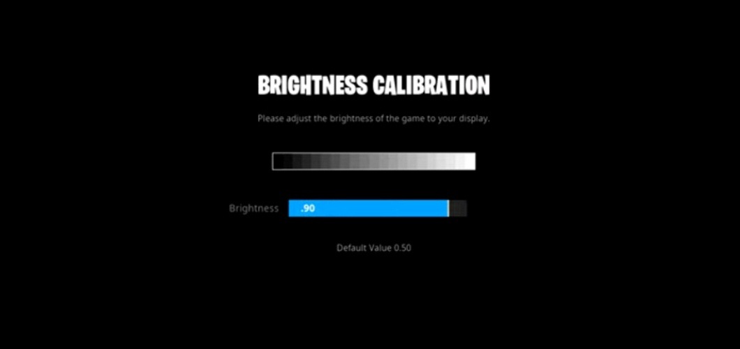 Clix Brightness Settings