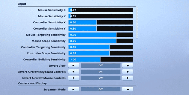 Daequan Fortnite Mouse Settings
