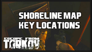 EFT-shoreline map key locations