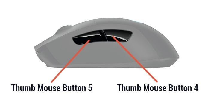 Jaomock Mouse Buttons