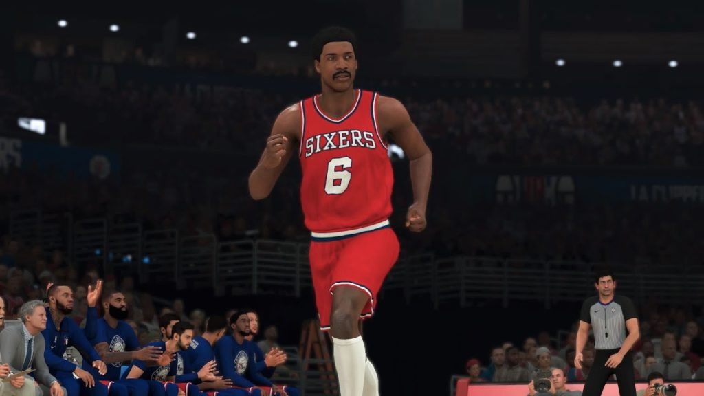 Julius Erving small forward build Nba 2k20