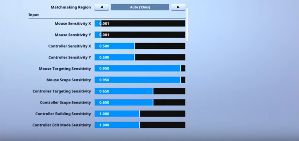 MrSavage Fortnite Mouse Settings