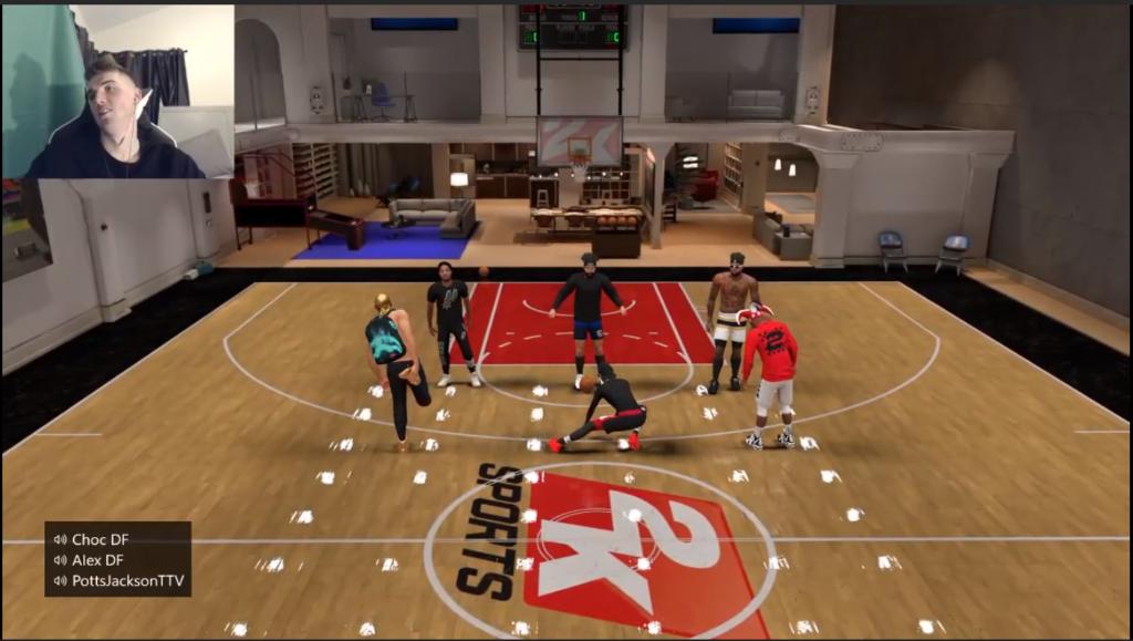 Neighbourhood in NBA 2k20
