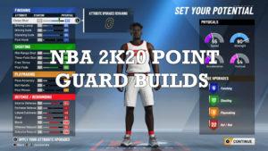 NBA-2K20 point guard build
