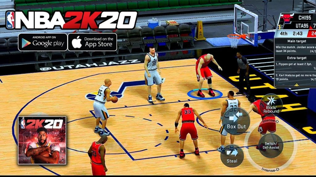 NBA 2k20 app to earn VC