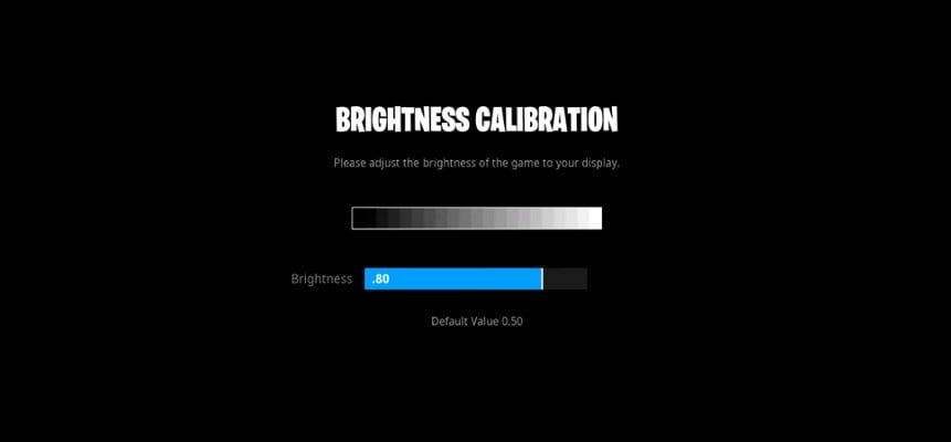 TSM Myth Brightness Settings