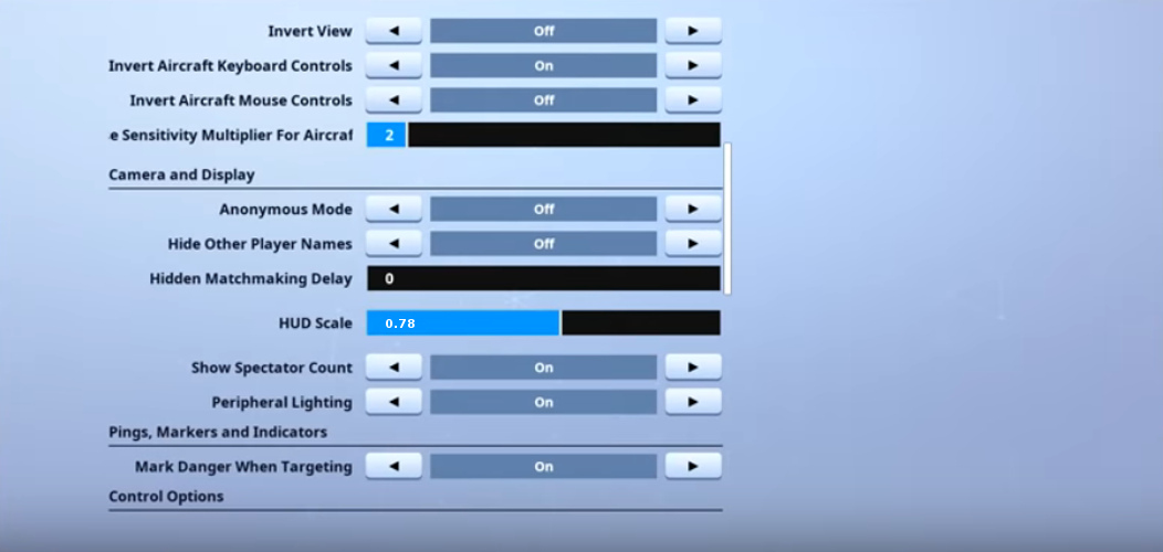 TSM Myth Game Settings