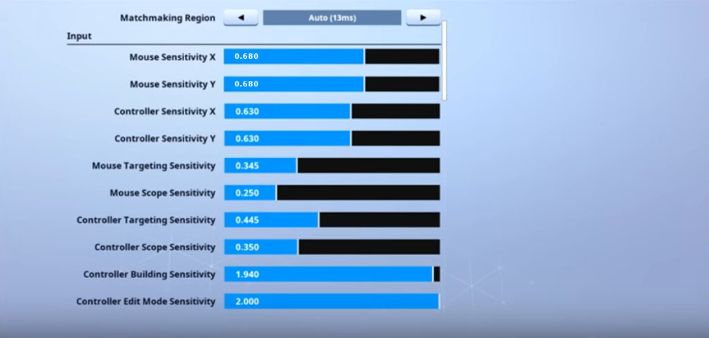 TSM Myth Fortnite Mouse Settings