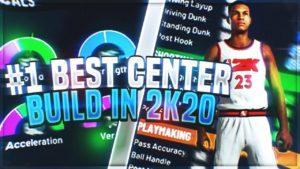 best center builds 2k20