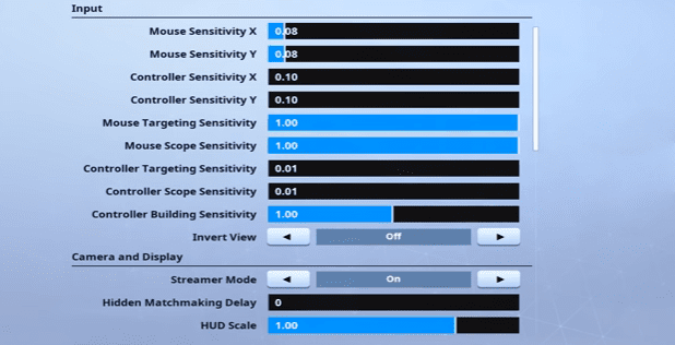 Cizzorz Fortnite Mouse Settings
