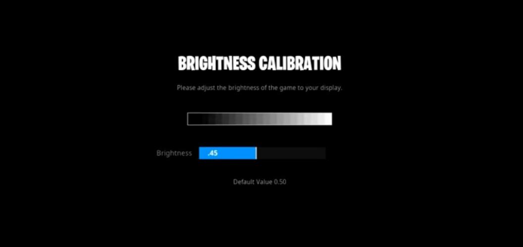 Dubs Brightness Settings