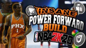 power forward build NBA 2k20