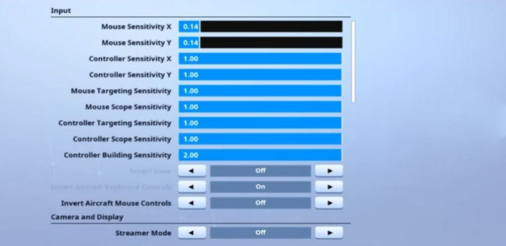 Teeqzy Fortnite Mouse Settings