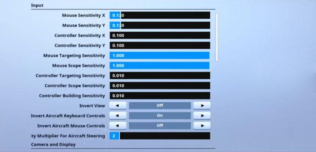 7ssk7 Fortnite Mouse Settings