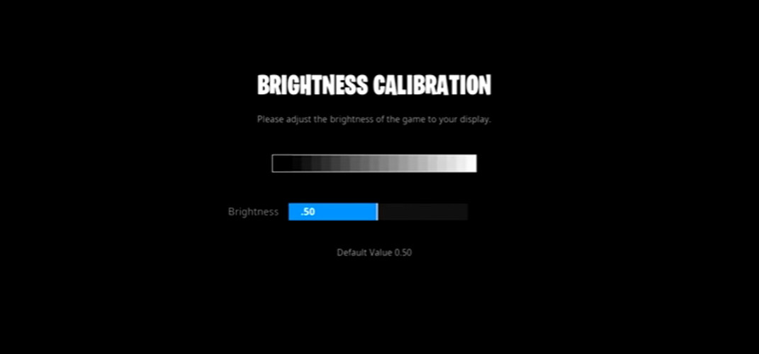 Assault's Brightness Settings