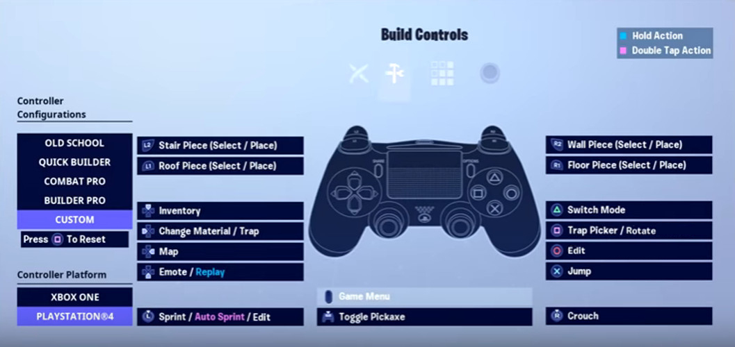 Assault's Build Controls