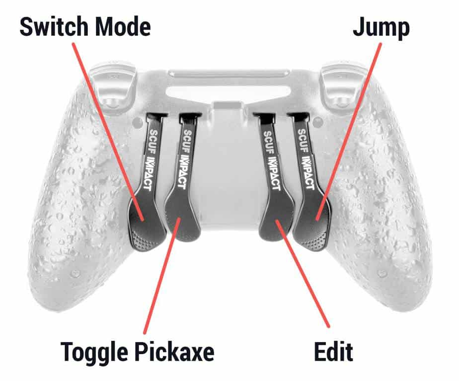 Assault controller keybinds