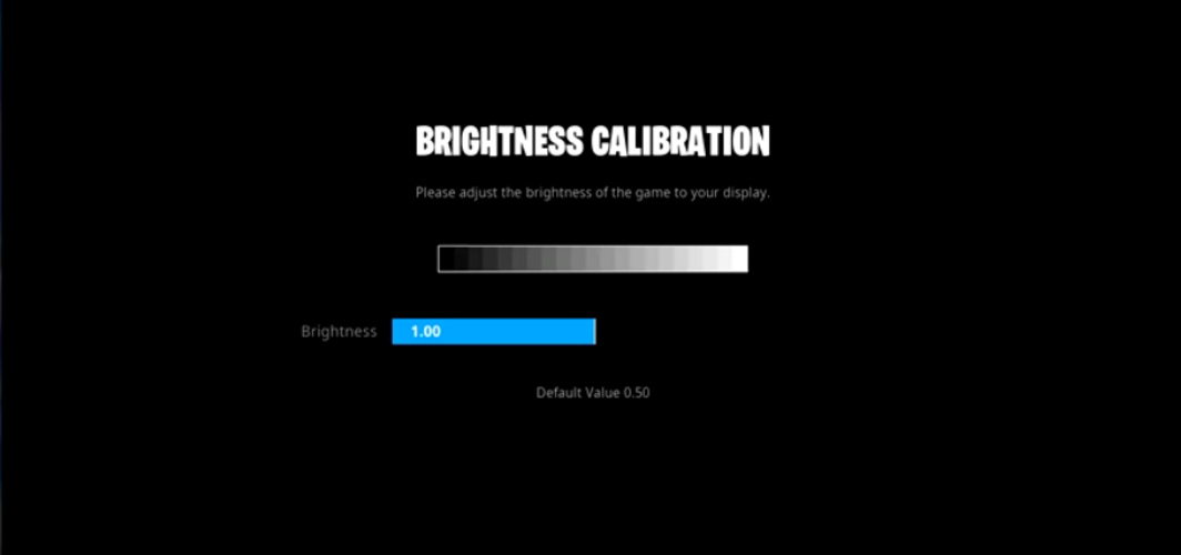 Ceice Brightness Settings