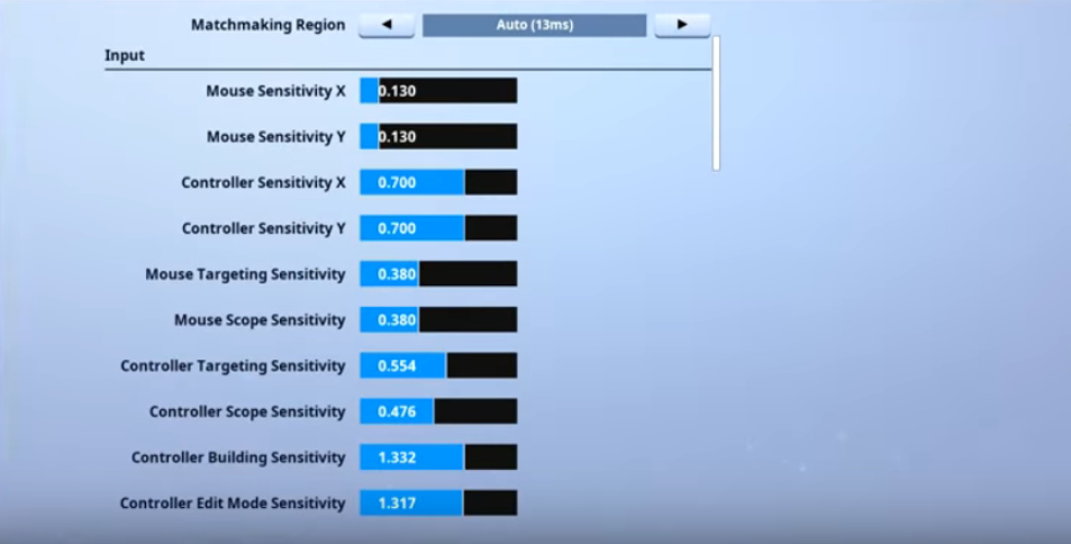 Ceice Fortnite Mouse Settings