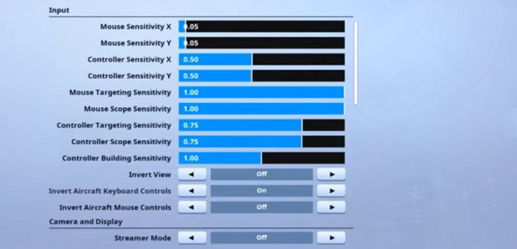 Kayuun Fortnite Mouse Settings