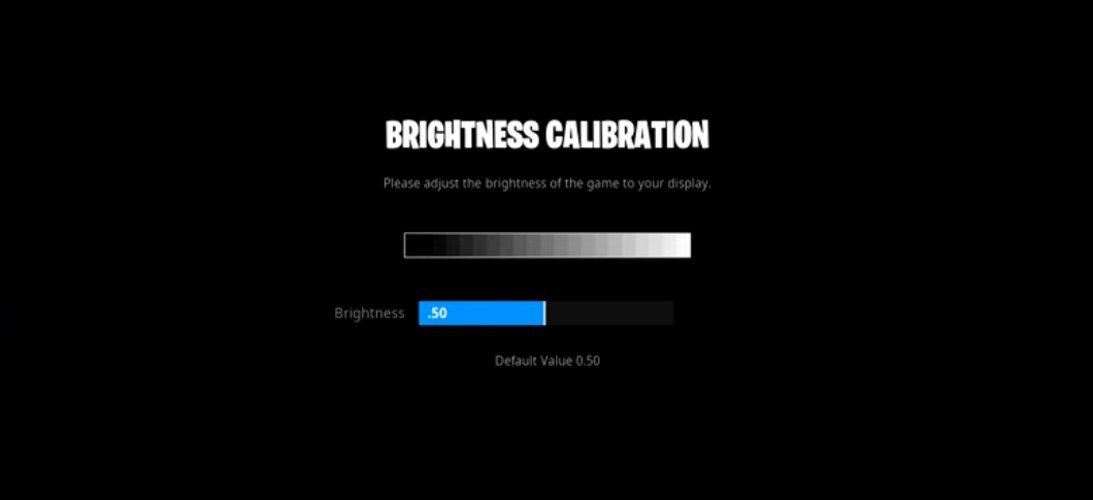 Replays Brightness Settings