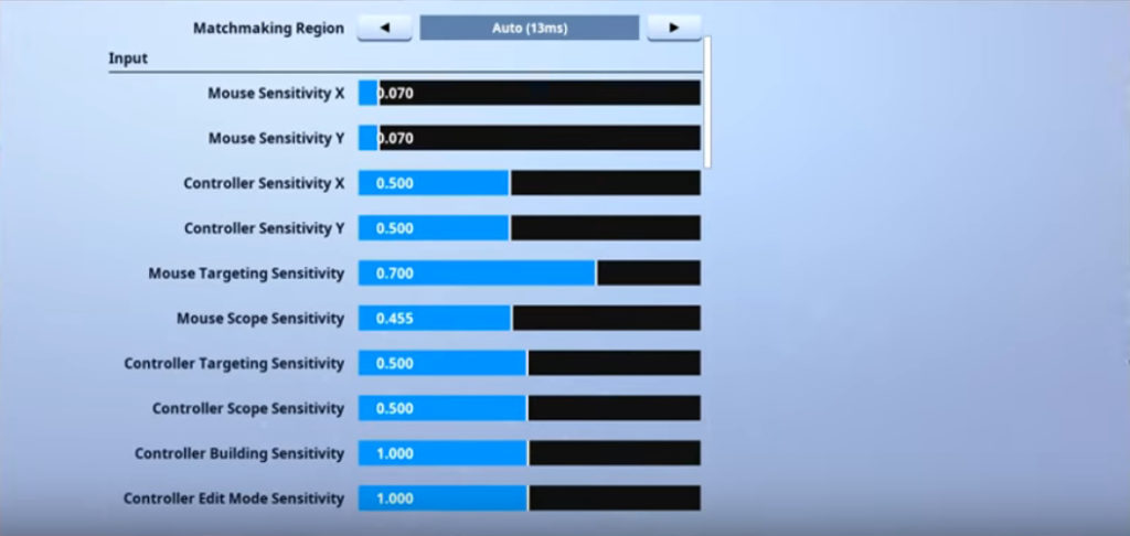 Riversan Fortnite Mouse Settings