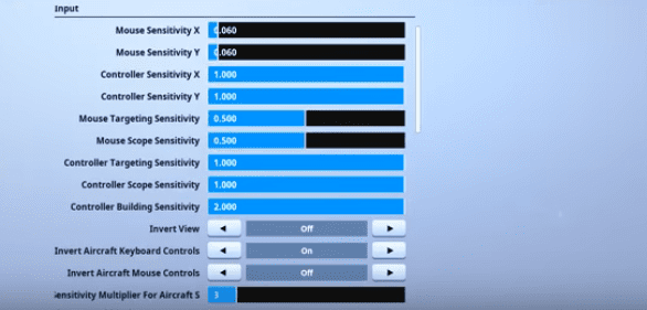 Saf Fortnite Mouse Settings