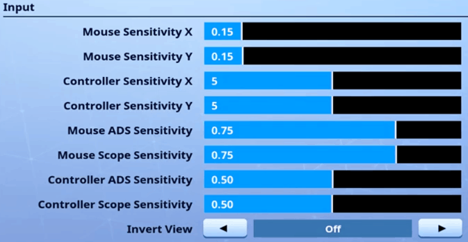 SpaceLyon Fortnite Mouse Settings