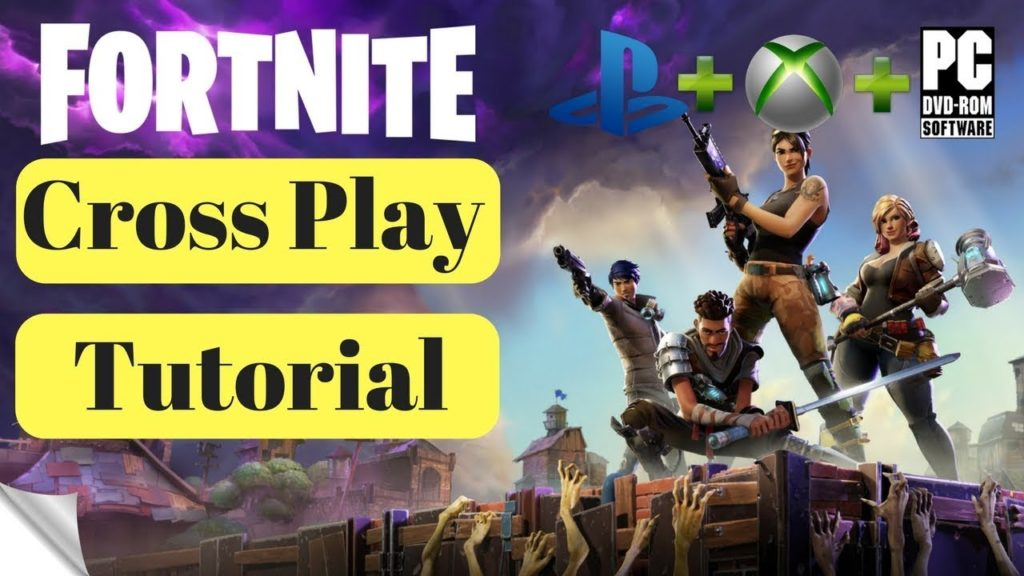 fortnite cross platform tutorial