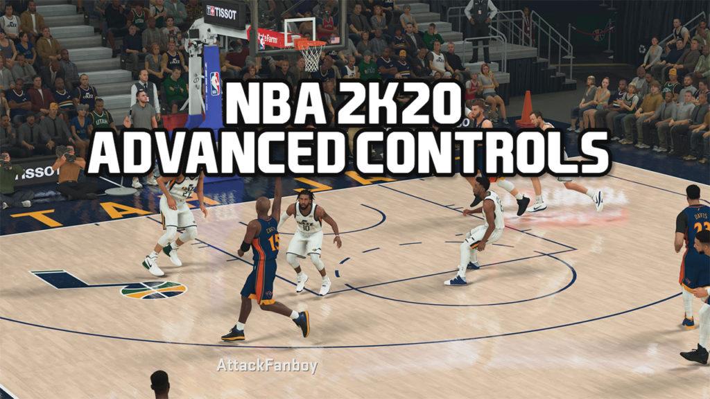 NBA 2k20 controls
