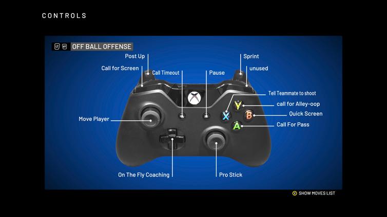 offball offense controls 2k20