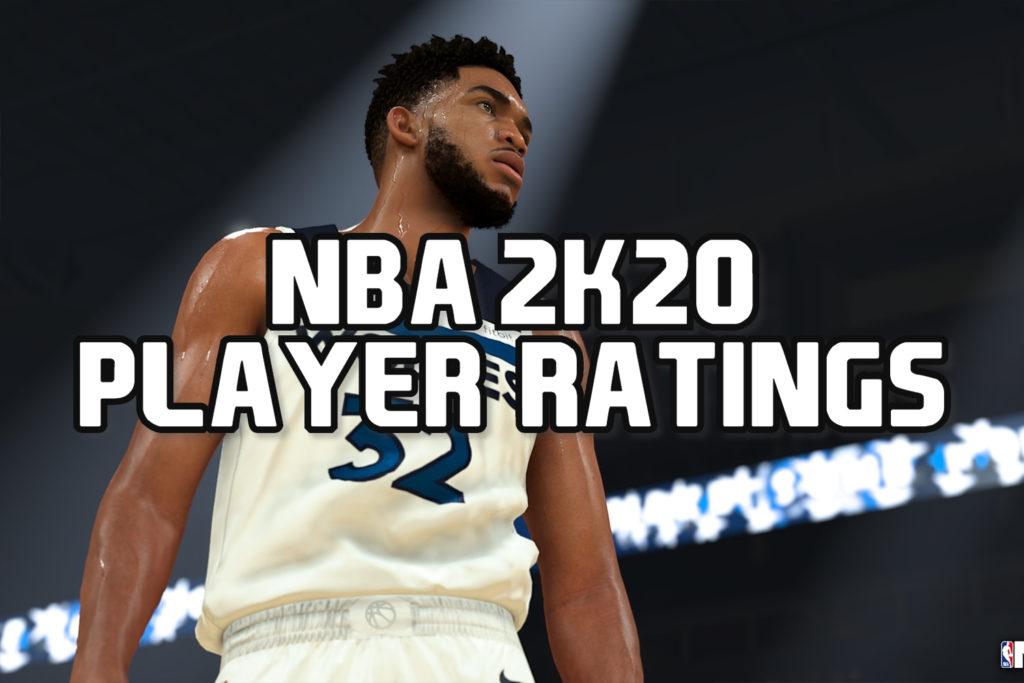 NBA 2k20 player Ratings