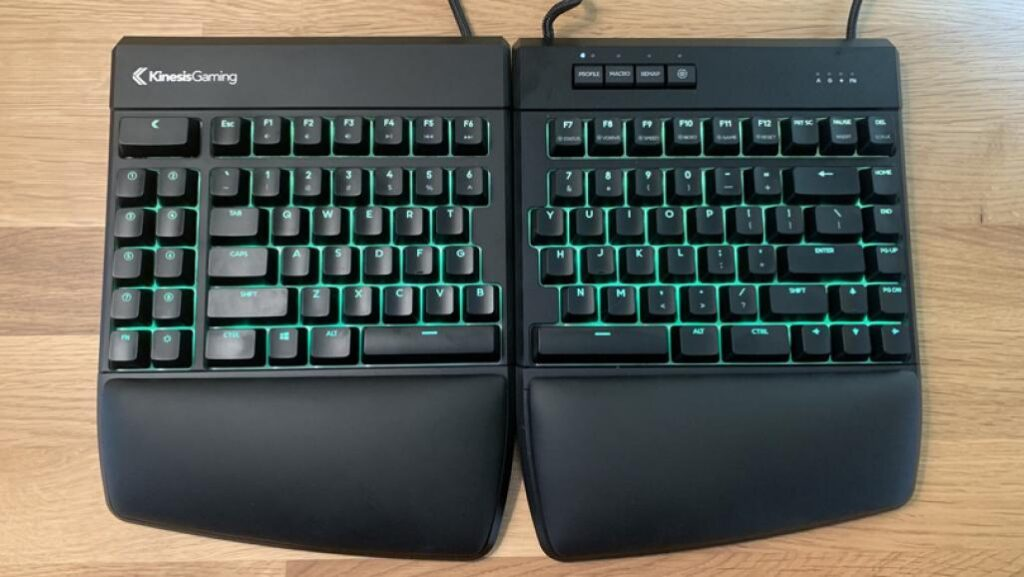 kinesis split keyboard