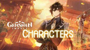 Genshin Impact characters