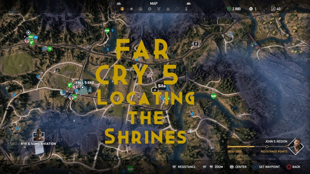 far cry 5 - locating the shrines