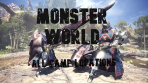 monster world all map locations