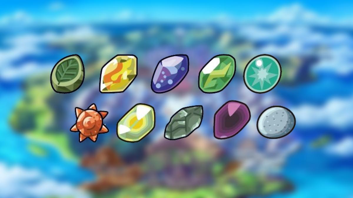 pokemon sword shields evolution-stones