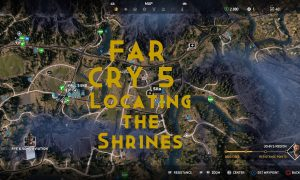 far cry 5 - locating the shrines
